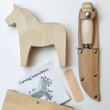 Wood Carving Kit Dala Horse
