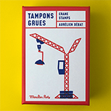 Construction Stamps Crane