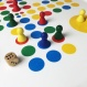 "Tray ""Fia"" with board game ""Ludo"" print"