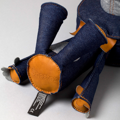 Chester Denim Emboss and Sew-In-Label