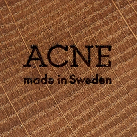 Acne JR Kranium Oak wood
