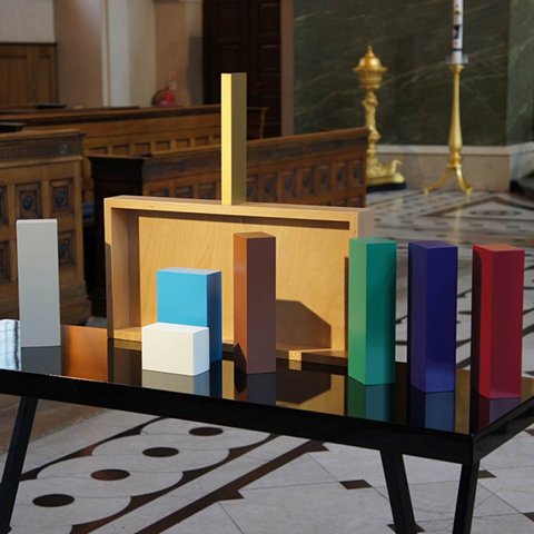 Colour Nativity Sebastian Bergne