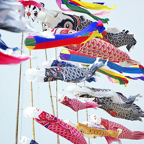 Koinobori Children's Day