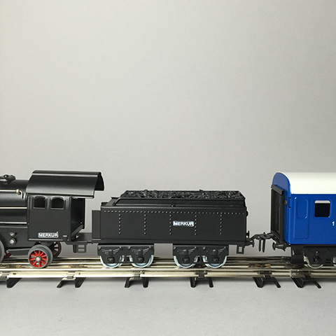 Merkur –Starter Set Steam Locomotiv