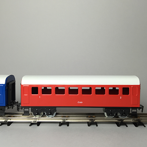 Merkur –Starter Set Steam Locomotiv