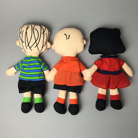 Peanuts Plush Snoopy Charlie Brown Lucy Linus